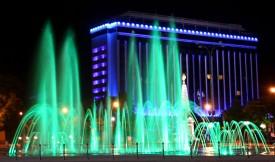Краснодарский фонтан на Театральной площади