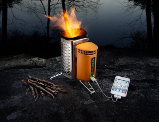biolite-campstove - источник пепла и электроэнергии
