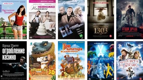 Релизы новых фильмов (январь 2013 года)