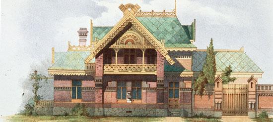 Классик петушиного стиля в русской архитектуре