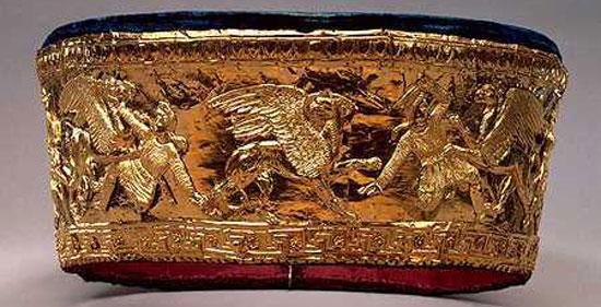 Глиняная корзина у древних греков