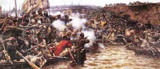 Столица сибирского ханства взятая атаманом Ермаком