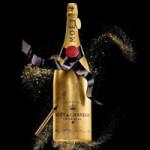 Шестилитровая бутылка шампанского