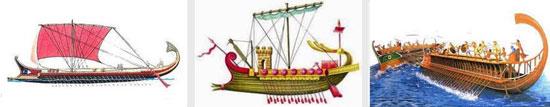 Начальник гребцов на боевых суднах Древнего Рима