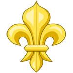 Цветок с герба Людовика VII