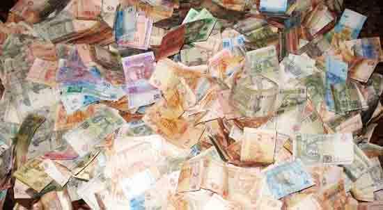 Купюра из найденного бумажника в рассказе «Миллионер» Александра Куприна