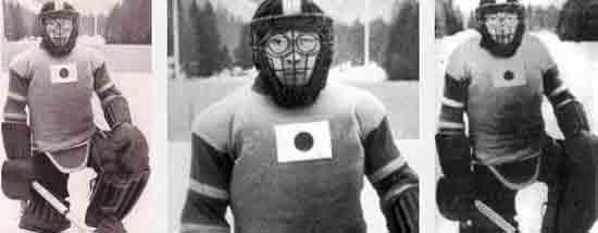 Какой японский хоккейный вратарь получил прозвище Железная Маска