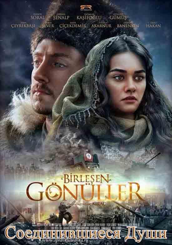 Турецкий фильм - Соединившиеся души / Birlesen Gonuller, постер
