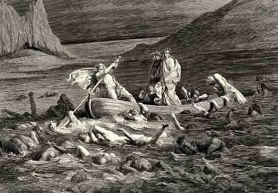 Смрадное болото в Дантовом «Аду»