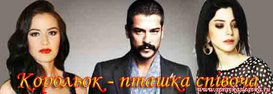 Турецький серіал - Корольок - пташка співоча (1+1) українською
