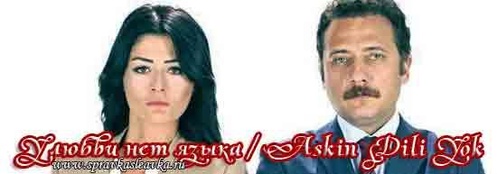 Турецкий сериал - У любви нет языка / Askin Dili Yok