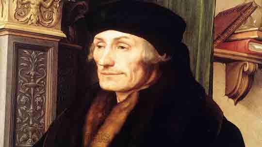 Единственное, что Эразм Роттердамский противопоставлял гневу и похоти