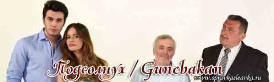 Турецкий сериал - Подсолнух / Gunebakan