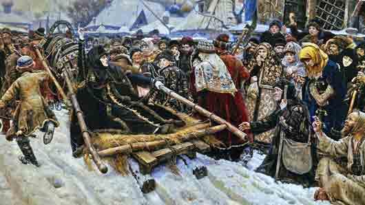 Историк, чьи труды помогли русскому художнику Василию Сурикову при написании картины «Боярыня Морозова»