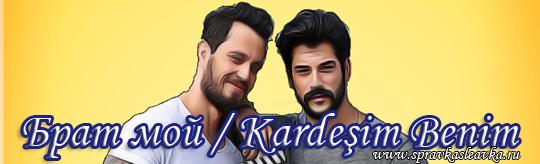 Турецкий фильм Брат мой / Kardesim Benim