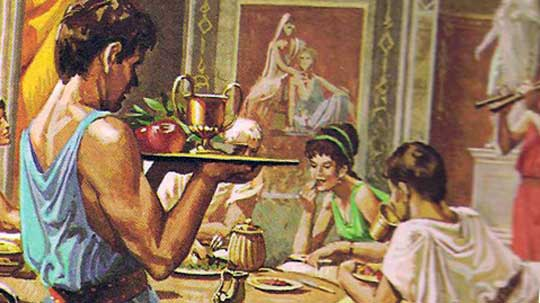 Древние римляне использовали сыр, как ... Что?